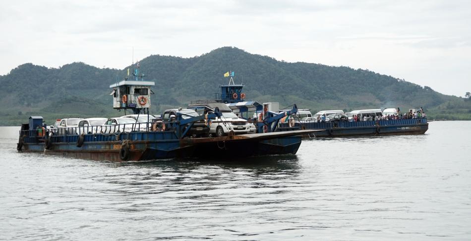 koh lanta tajlandia płynący prom