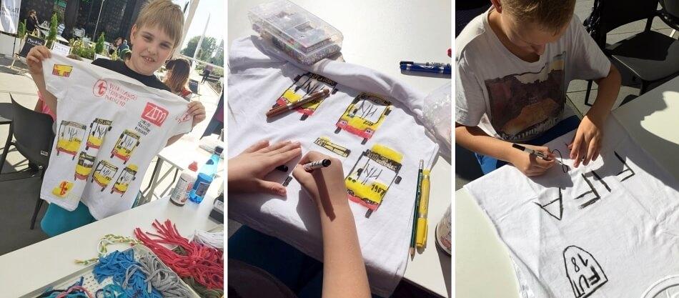 Warsztaty dla dzieci diy kreatywne wykorzystanie ubrań