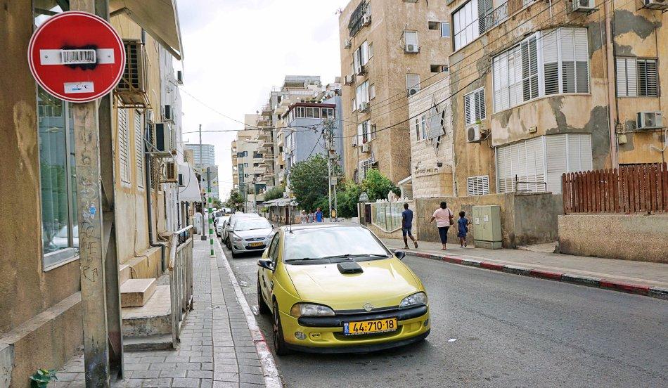 tel aviv jaffa izrael boczna ulica