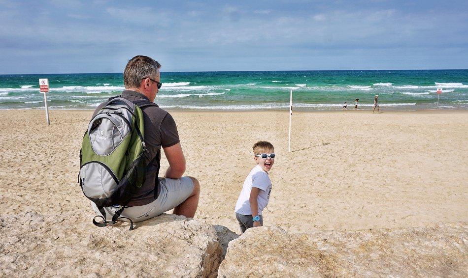 tel aviv jaffa izrael plaża fale