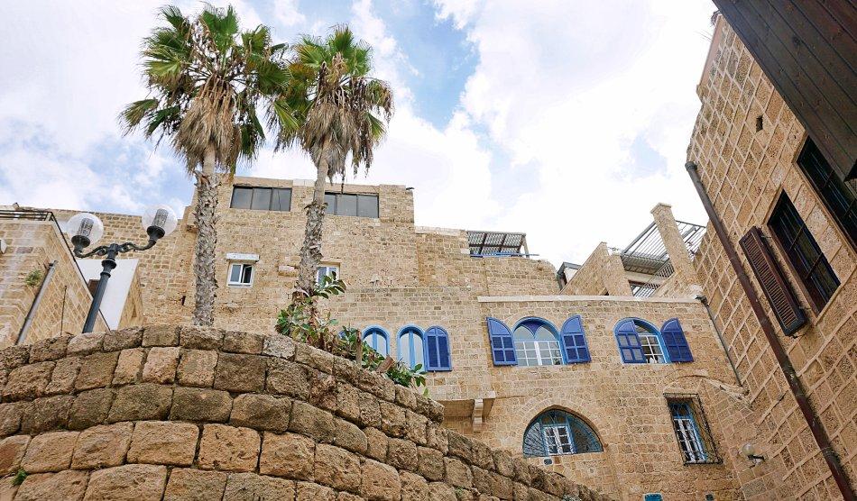 tel aviv jaffa izrael stare miasto uliczka