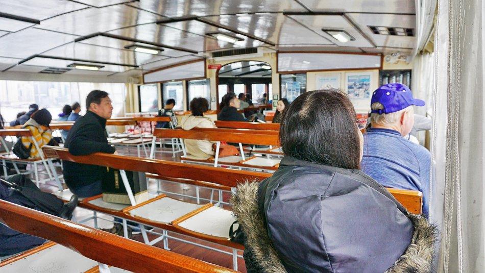 warszawa hong kong prom przez zatokę św. wiktorii wnętrze