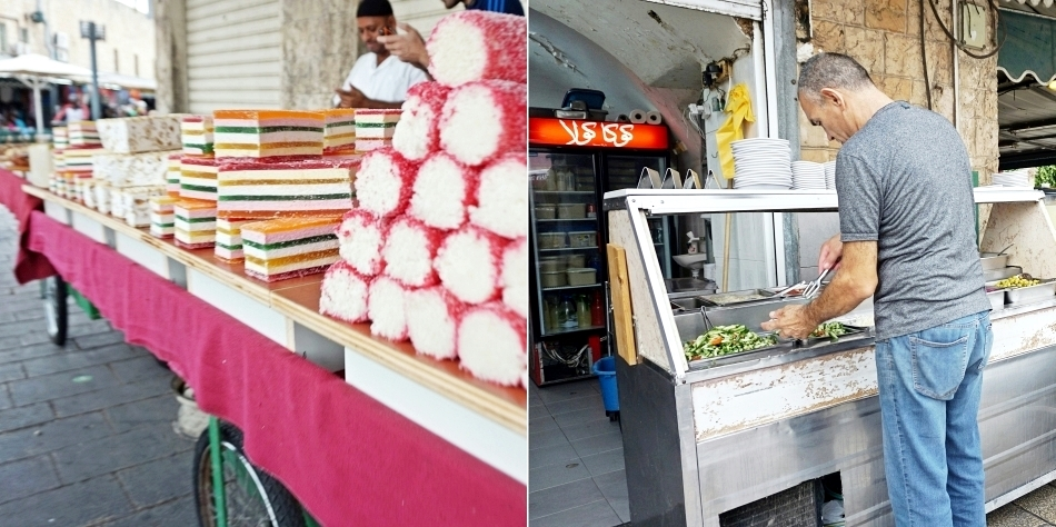 Jedzenie w Izraelu Akka