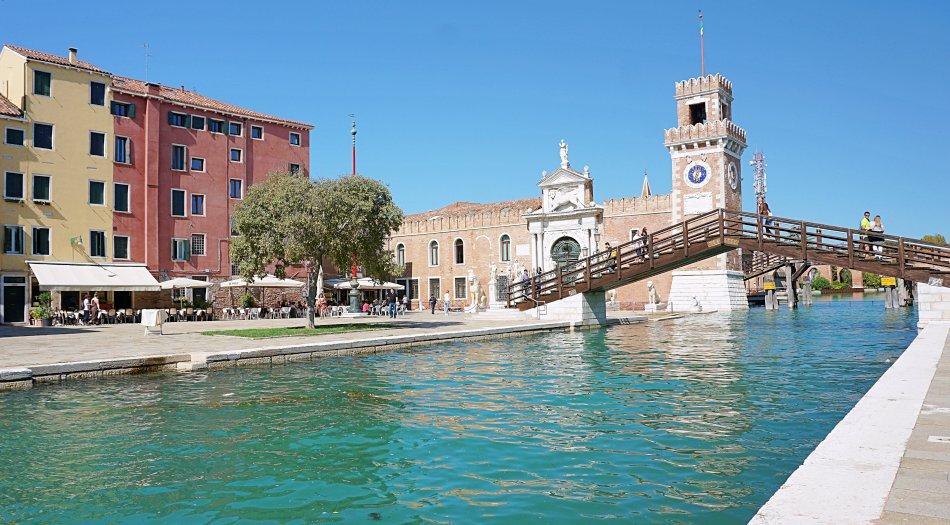zabytki wenecji wenecja włochy arsenał arsenale di venezia