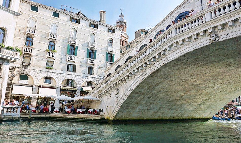 zabytki wenecji wenecja włochy most rialto ponte di rialto grand canal