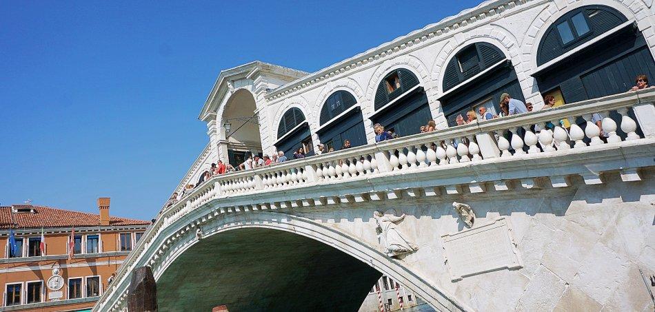 zabytki wenecji wenecja włochy most rialto ponte di rialto