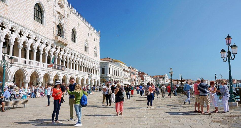 zabytki wenecji wenecja włochy pałac dożów palazzo ducale