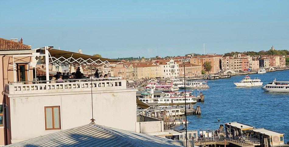 zabytki wenecji wenecja włochy pałac dożów panorama arsenał grand canal