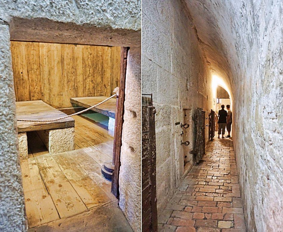 zabytki wenecji wenecja włochy pałac dożów więzienie lochy