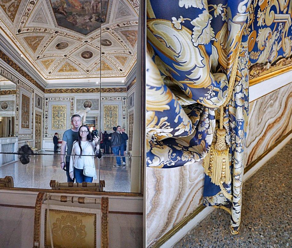 zabytki wenecji wenecja włochy pałac dożów wnętrze haart