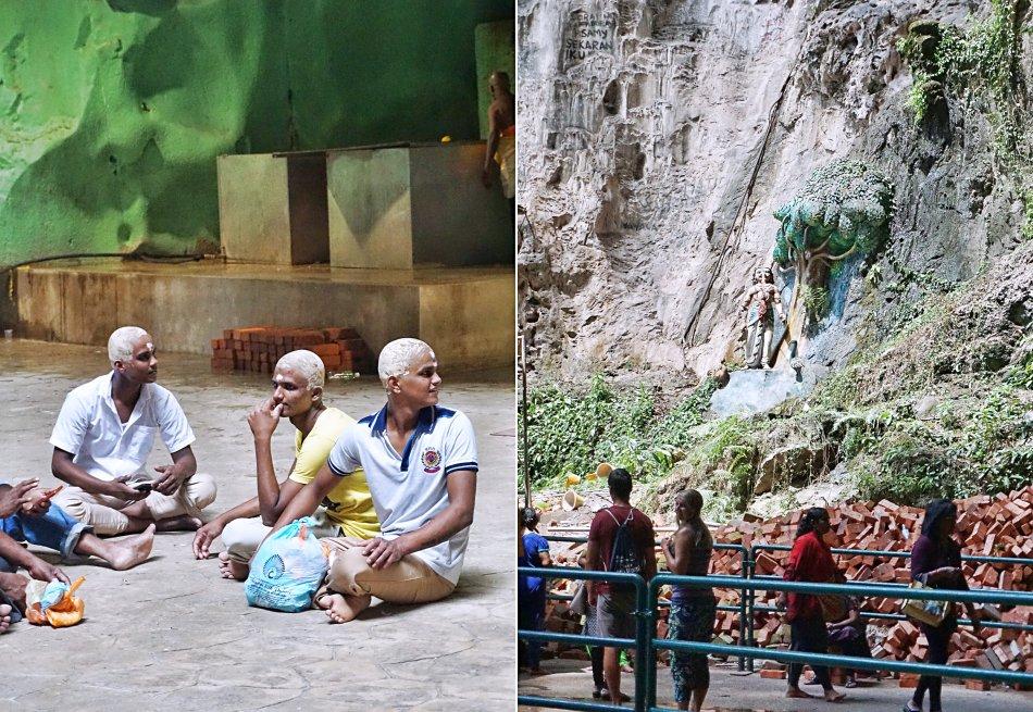 batu caves kuala lumpur malezja pielgrzymi grota