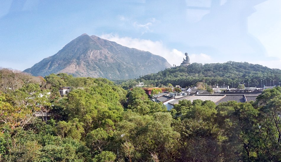 ngong ping hong kong lantau kolejka linowa panorama