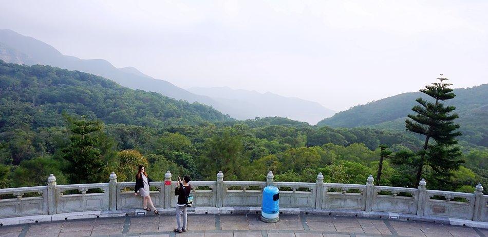 ngong ping hong kong lantau budda tian tan las panorama