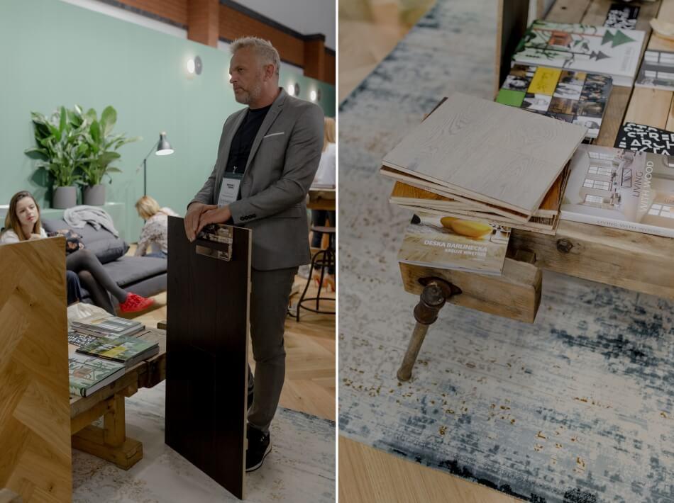 barlinek prezentacja desek warsaw home