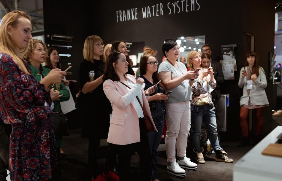 stoisko franke warsaw home 2018