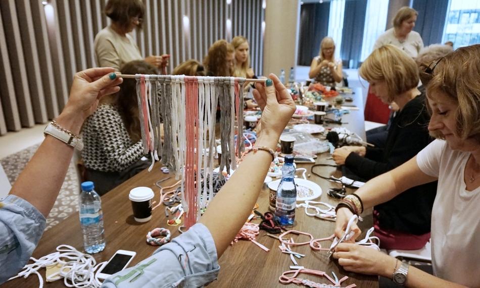 Warsztaty DIY makramy i zawieszki