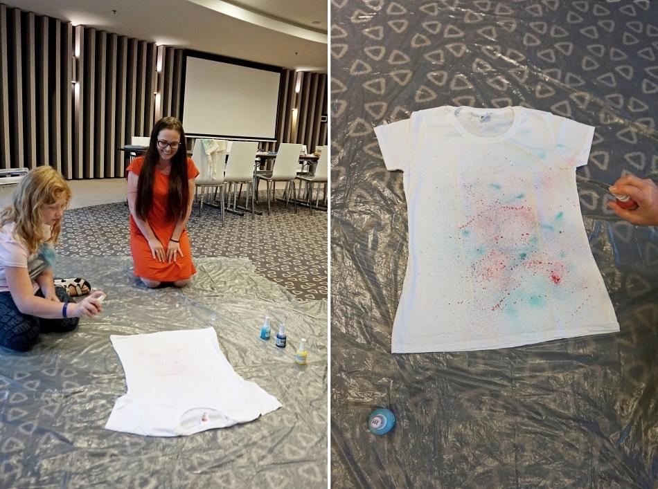 Warszataty DIY malowanie koszulek