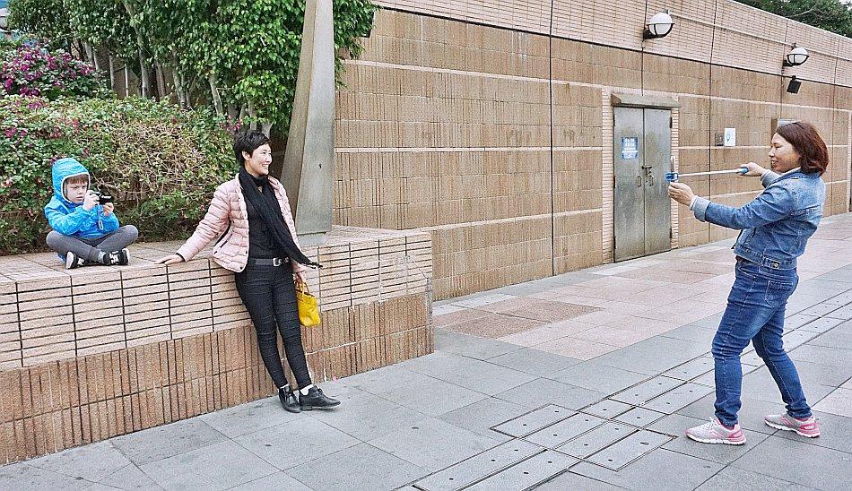 zwiedzanie hong kongu zdjęcia selfie