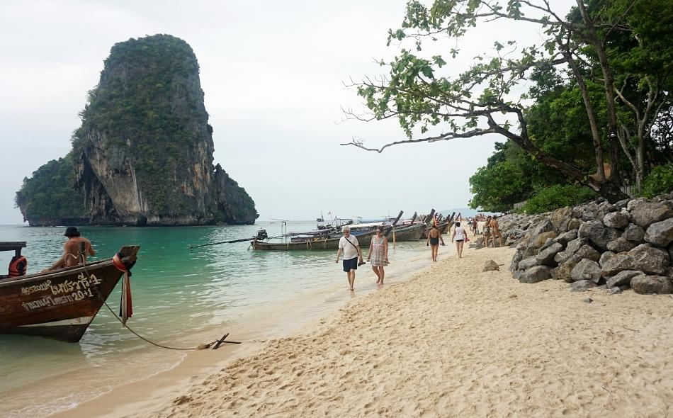 plaża phra nang, krabi, tajlandia