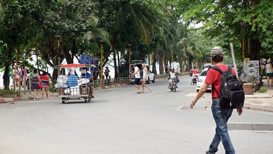ulica w ao nang, przy plaży
