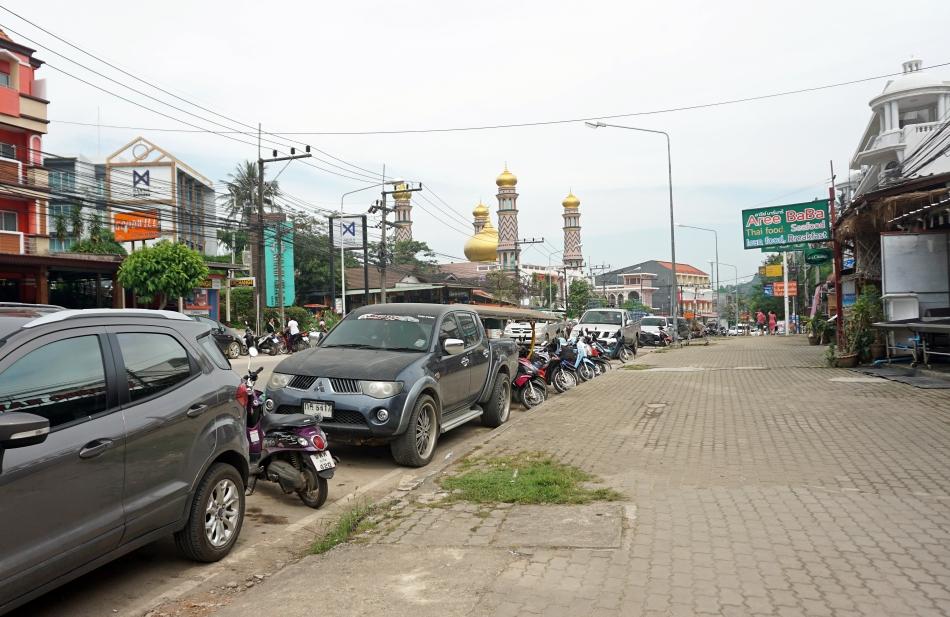 ao nang krabi tajlandia ulica
