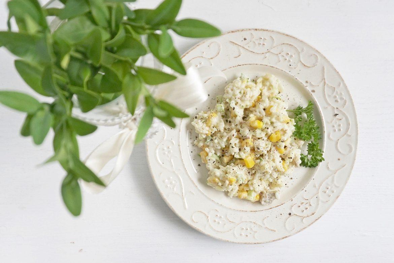 Salatka Z Tunczykiem Ryzem I Kukurydza Haart Blog