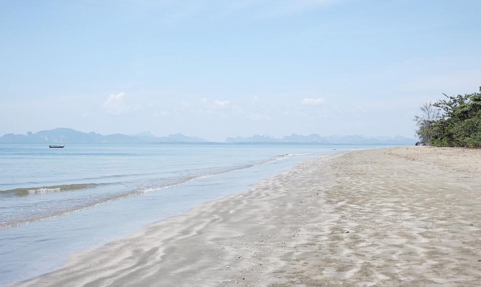 Krabi w Tajlandii Yao Beach