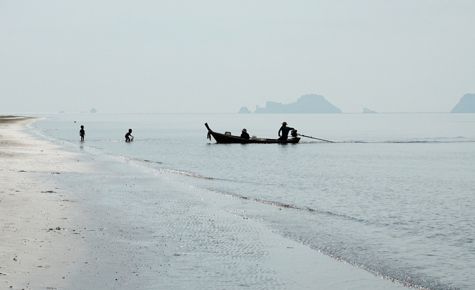Plaża w Tajlandii w prowincji Krabi