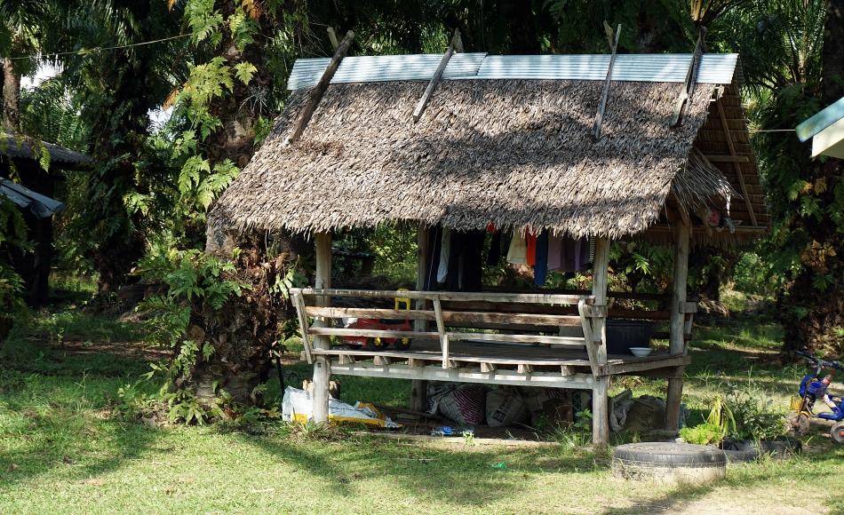 Wieś w prowincji Krabi w Tajlandii