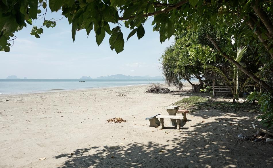 Plaża w prowincji Krabi w Tajlandii