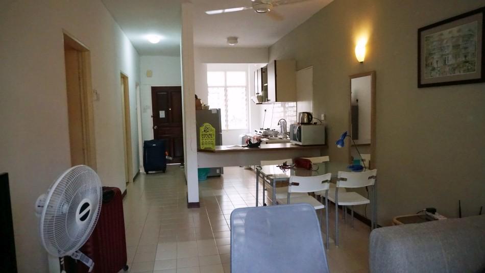 malezja i singapur koszty plan podróży 18 dni mieszkanie penang airbnb