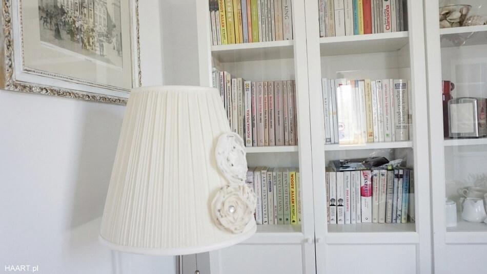 żyrandol diy, biblioteczka