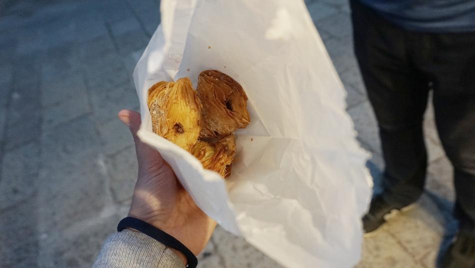 Ceny w Wenecji słodkie ciasteczka