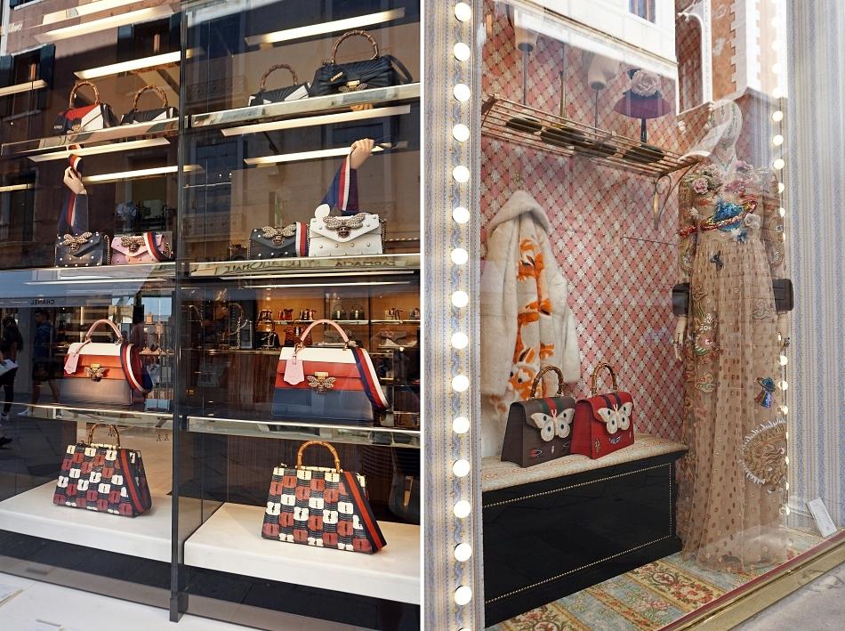 Ceny w Wenecji Wystawy ekskluzywnych sklepów