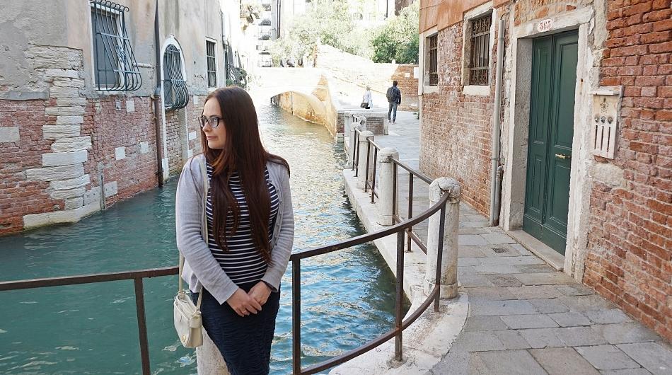 Hania Kozłowska w Wenecji