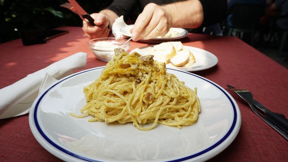 Ceny w Wenecji Makaron z sosem
