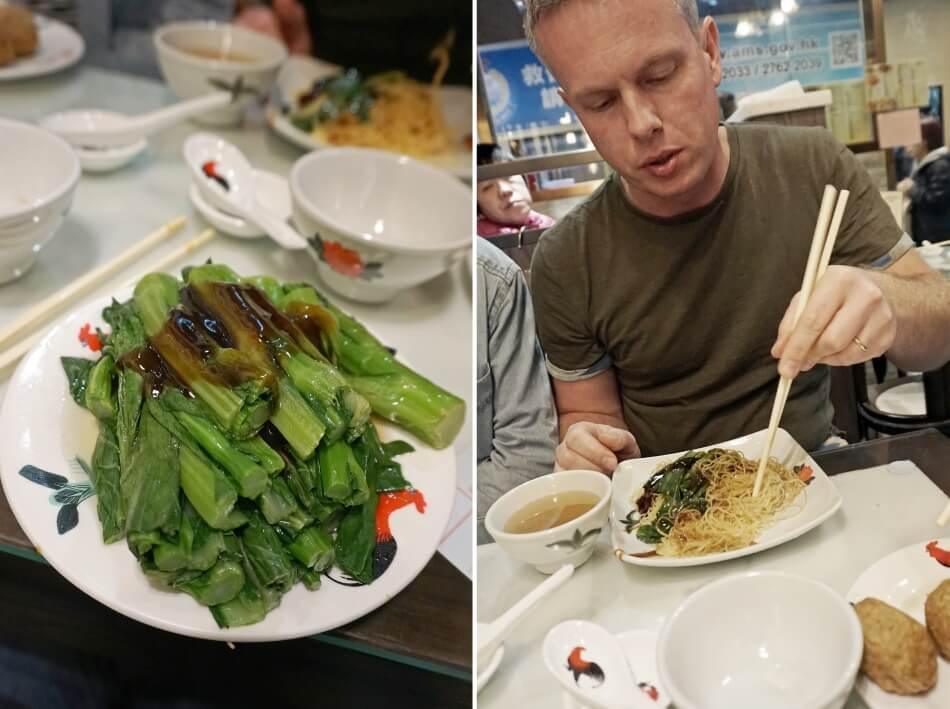 lokalne jedzenie w Hong Kongu, street food