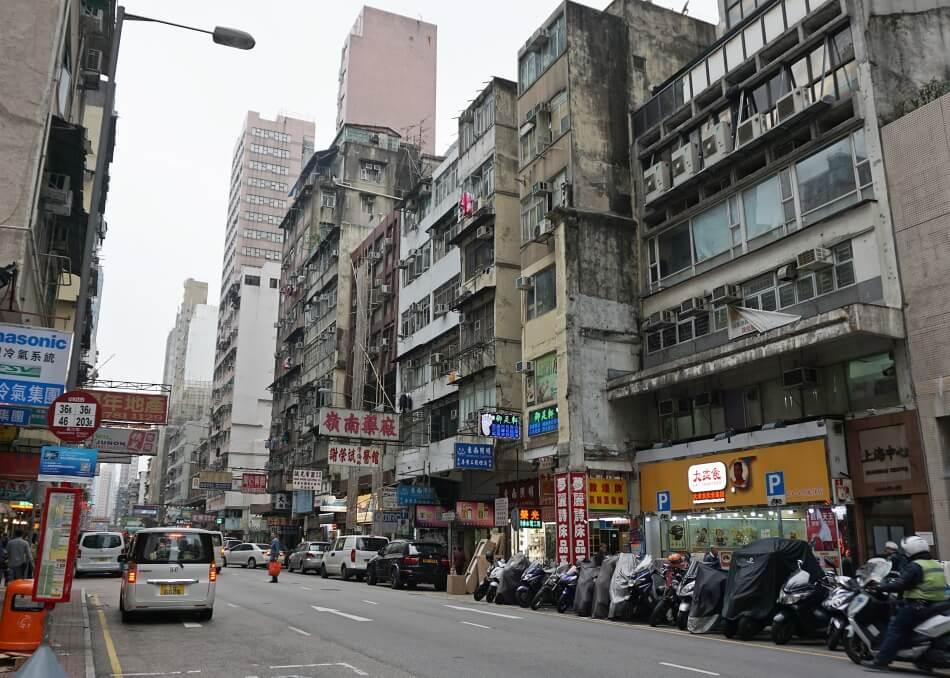 Atrakcje Hong Kongu na Shanghai Street