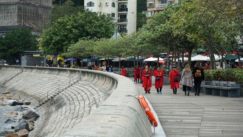 deptak nadmorski, stanley village, hongkong