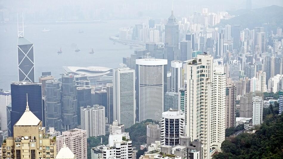 Atrakcje Hong Kongu taras widokowy