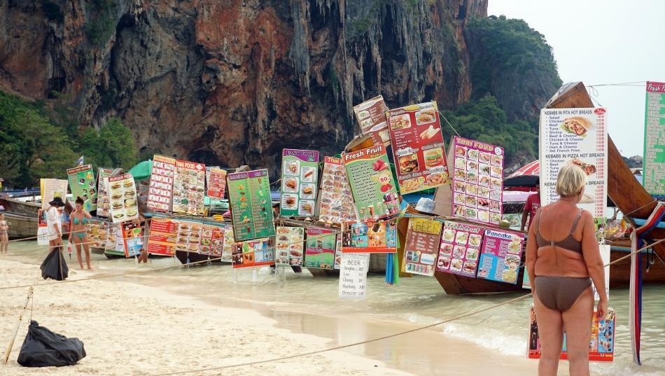 Ceny w Tajlandii na łódkach