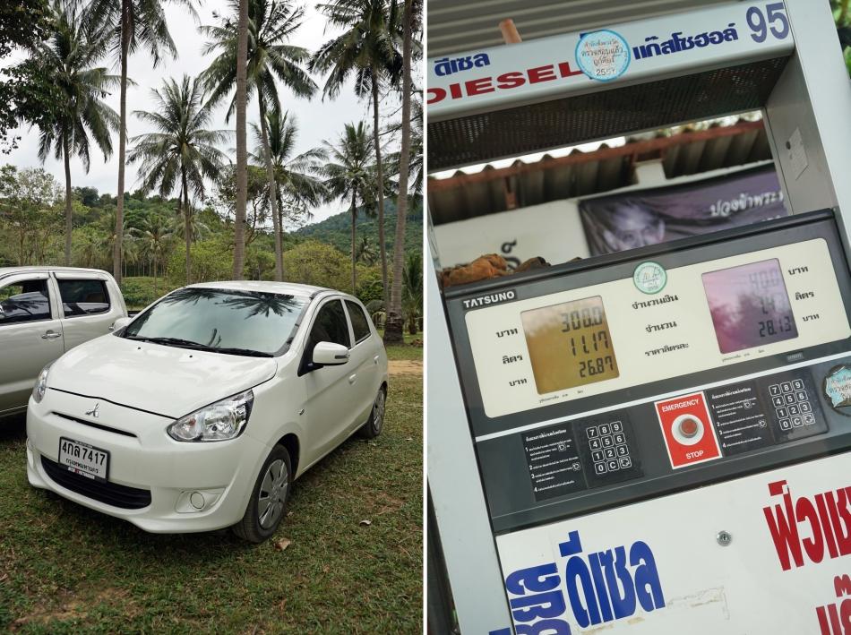 Ceny w Tajlandii za wynajęcie samochodu