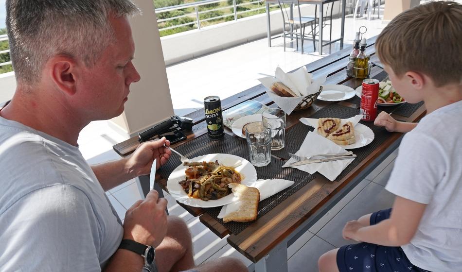 Restauracja w Albanii