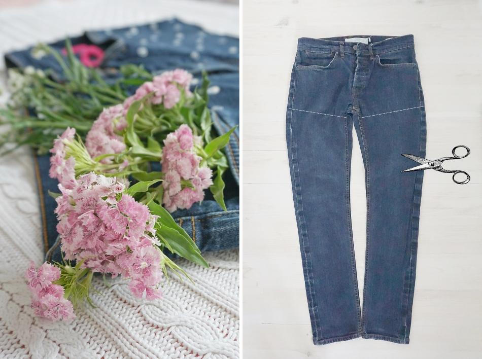 Spodnie jeansowe do przeróbki