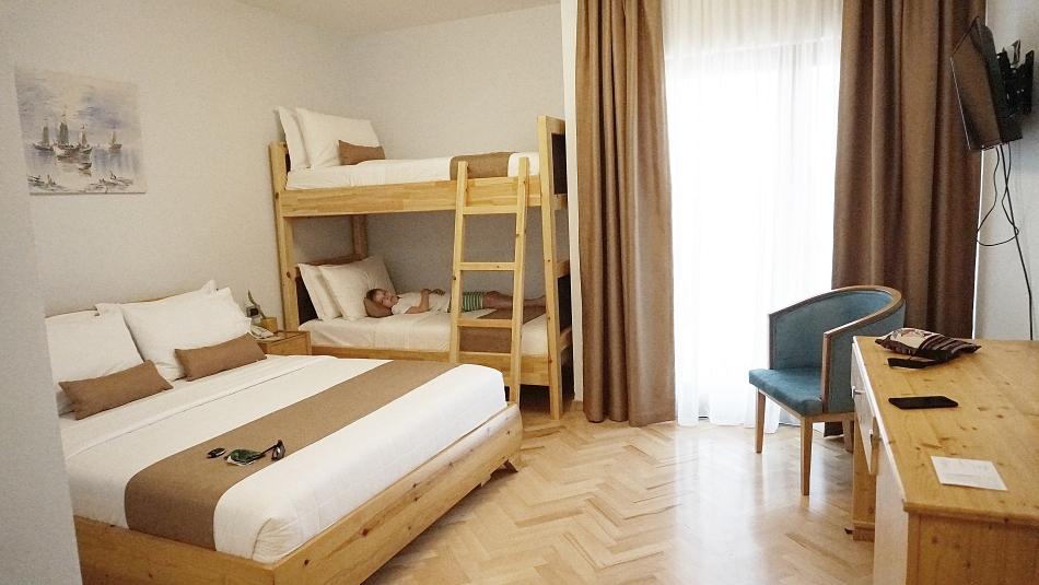 Pokój w hotelu Rambuje w Albanii