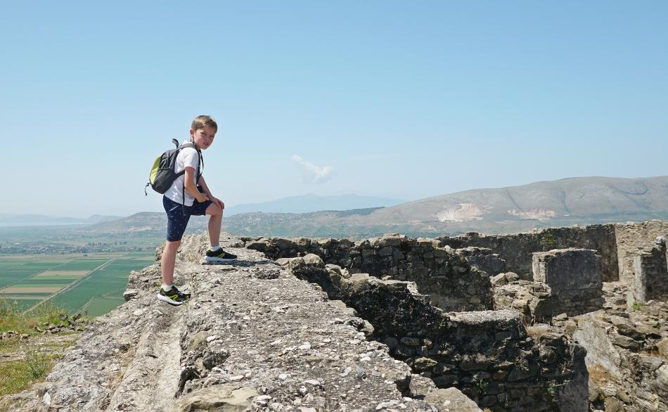 Park Archeologiczny Finiq w Albanii