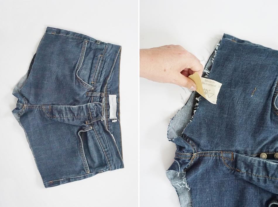 Przerabianie jeansów na szorty