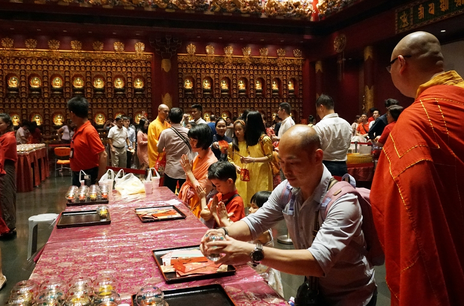 Singapur Budda Tooth Relic Temple
