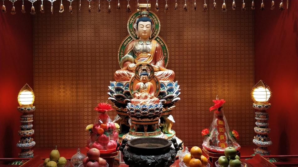 Budda Tooth Relic Temple w Singapurze