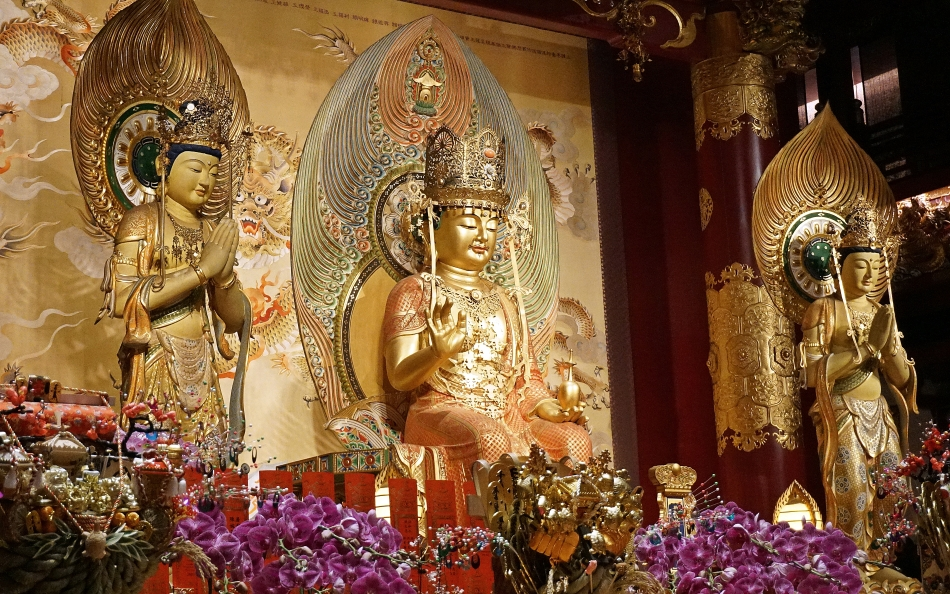 Budda Tooth Relic Temple Singapur